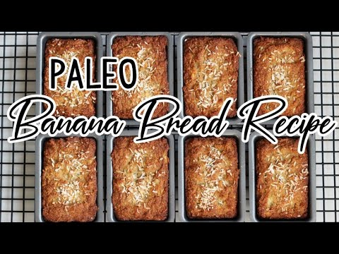 Paleo Banana Walnut Bread Recipe - Easy and Delicious