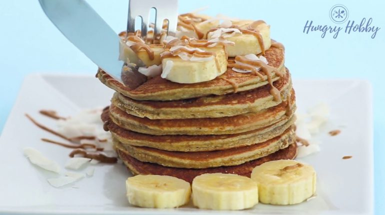 Paleo Coconut Flour Pancakes Recipe Video