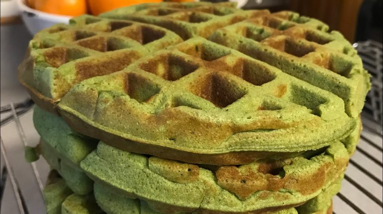 Paleo Waffle Recipe: with veggies picky eaters and kids will love!
