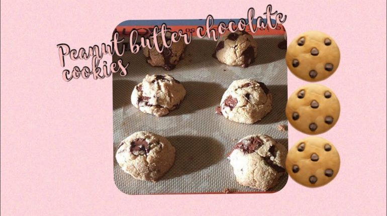 Peanut butter chocolate chip cookies! All paleo Tiny Baker