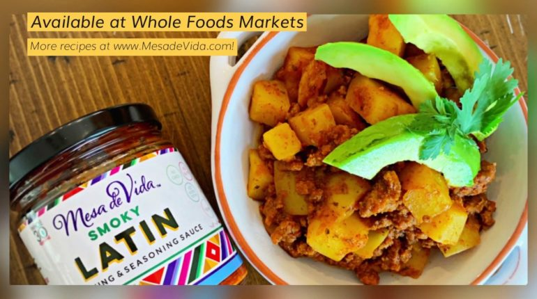 Smoky Latin Carne con Papas Easy Recipe! Whole30 | Slow Cooker | Paleo | Delicious!