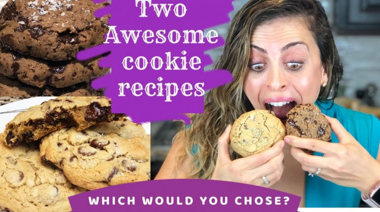Two of the Best Chocolate Chip Cookie Recipes | Traditional  & Paleo recipes (with Vegan option)!