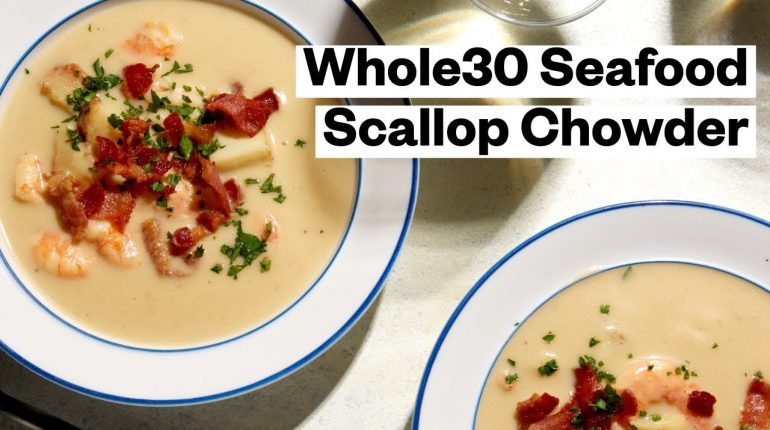 WHOLE30® Seafood Chowder Recipe (Paleo) | Thrive Market