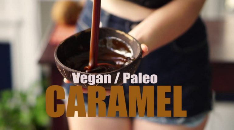 3 Ingredient Vegan Caramel (+Paleo)