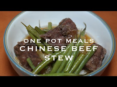 Beef Stew with Green Beans | Paleo + Gluten Free