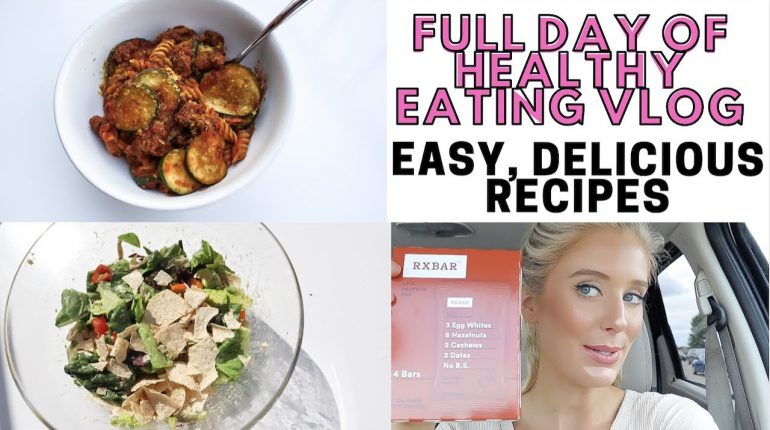 FULL DAY OF HEALTHY EATING VLOG | DELICIOUS, QUICK, EASY PALEO RECIPES
