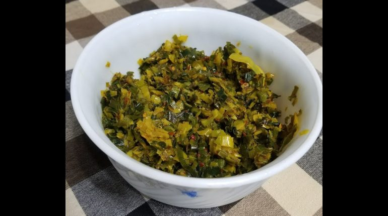 Keto/Paleo Friendly Leeks Varai From Priya John Kitchen