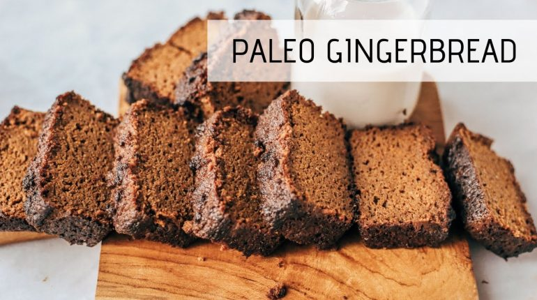 Making Gingerbread With Sweet Potatoes Instead Of Flour! | Paleo Bread