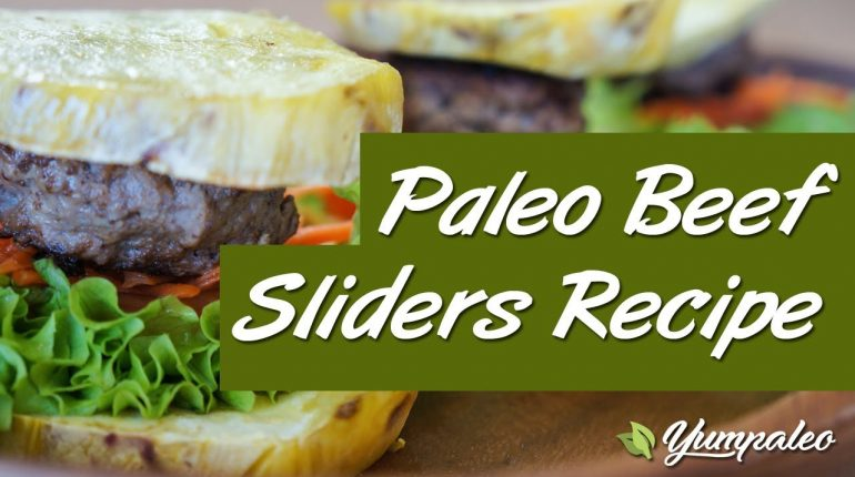 Paleo Beef Sliders Recipe