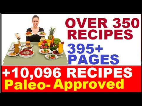 Paleo Recipes: Over 350 Healthy Food Recipes - Easy Cooking Recipes Including Best Chicken Recipes