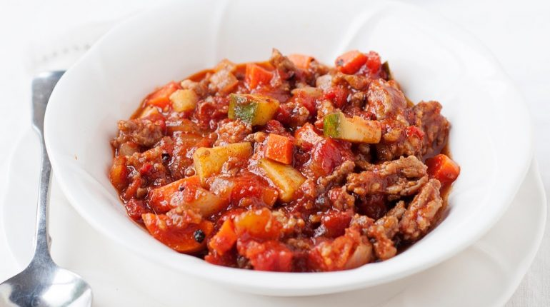 Slow Cooker Paleo Chili | All Meat - No Beans!
