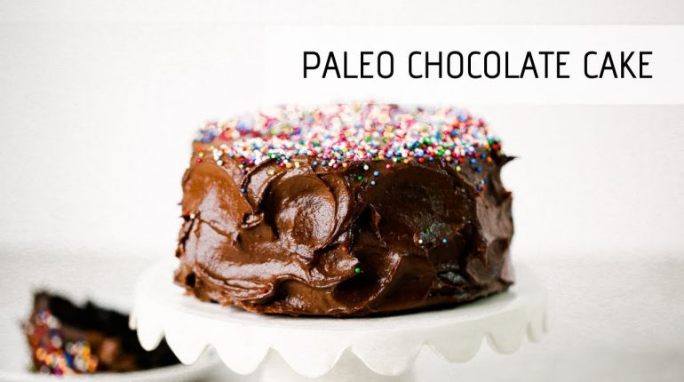 I Made A Birthday Cake With Sweet Potatoes | Paleo Chocolate Cake