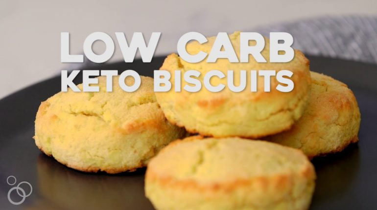 Low Carb Keto Biscuits #keto #paleo #glutenfree