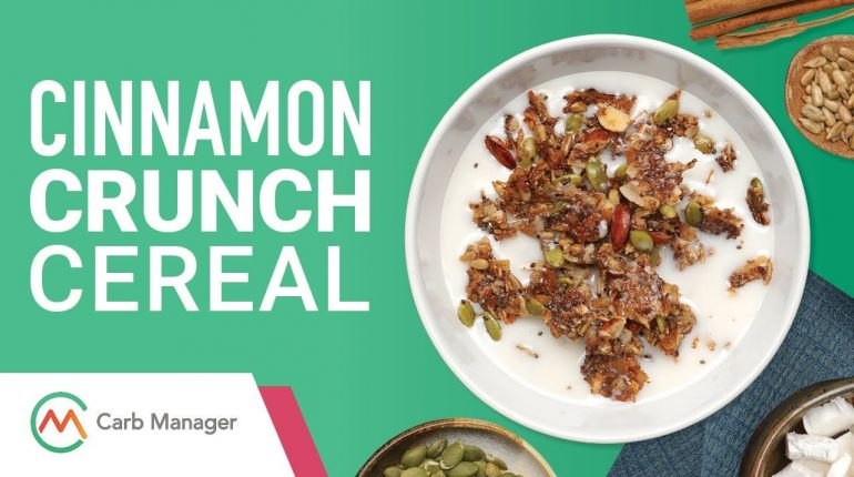 Low Carb Paleo Cinnamon Crunch Cereal Recipe
