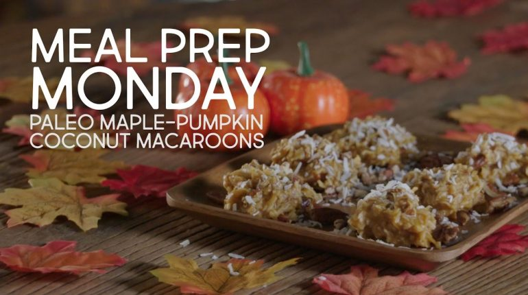 Paleo Maple-Pumpkin Coconut Macaroons from Melissa Joulwan