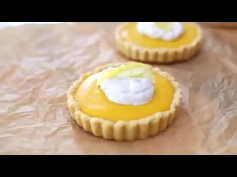 Paleo recipes Team: How to Make a Healthy Lemon Tart with Gluten Free Almond Flour Crust