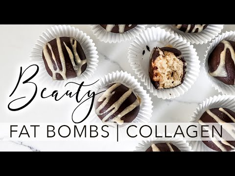The Worlds Easiest Recipe ~ Beauty FAT Bombs | Keto | Paleo | Collagen Protein | MCT |