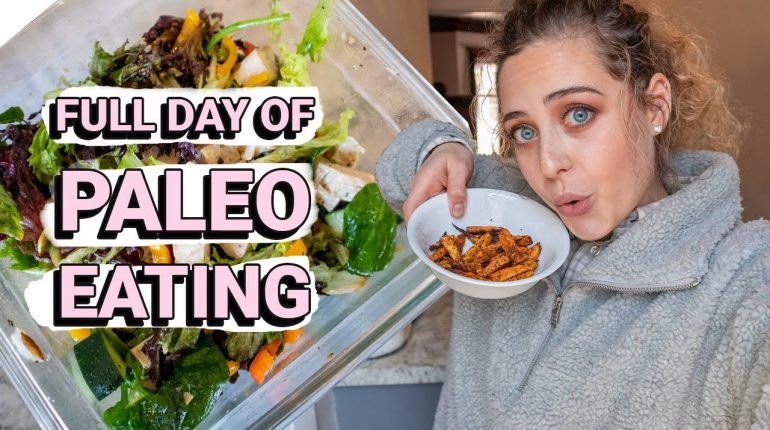 What I Eat In A Day On The Paleo Diet + AMAZING Healthy Brownie Recipe
