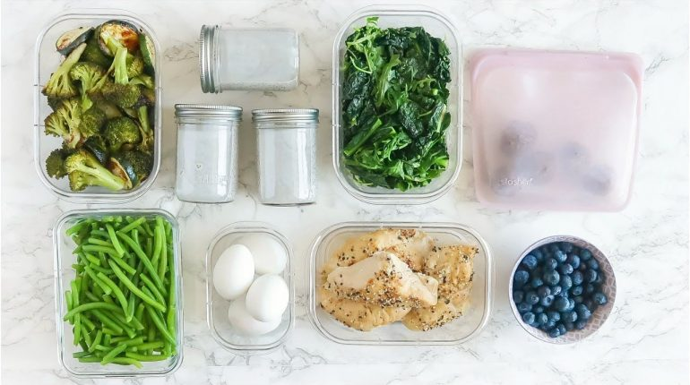 EASY Meal Prep | paleo healthy meal ideas